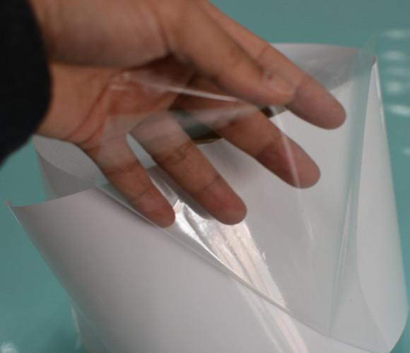 强粘透明PVC不干胶材料生产厂家