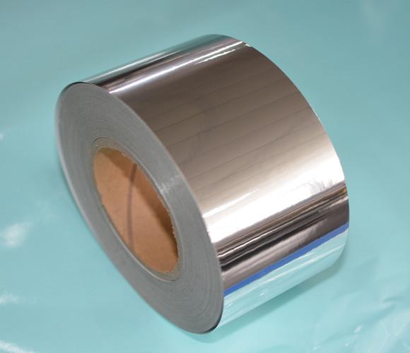 强粘光银纸不干胶材料