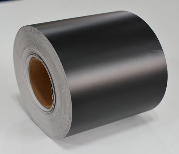 强粘哑黑PVC不干胶材料